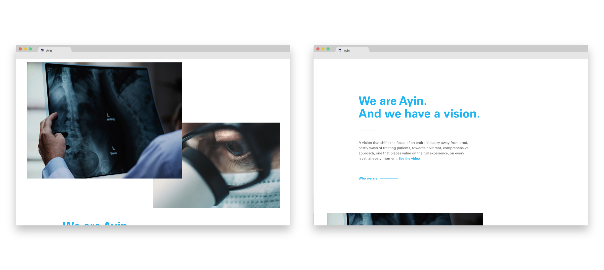 Ayin Health Solutions reusable blocks example image
