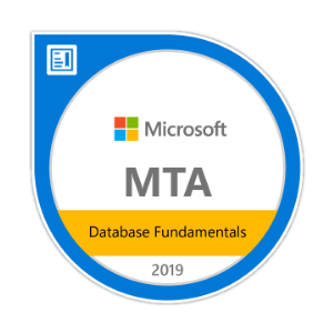 Microsoft Database Fundamentals Certification