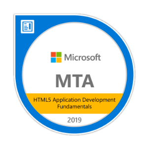 Microsoft HTML5 Application Development Fundamentals Certification