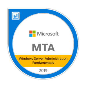 Microsoft Server Administration Fundamentals Certification
