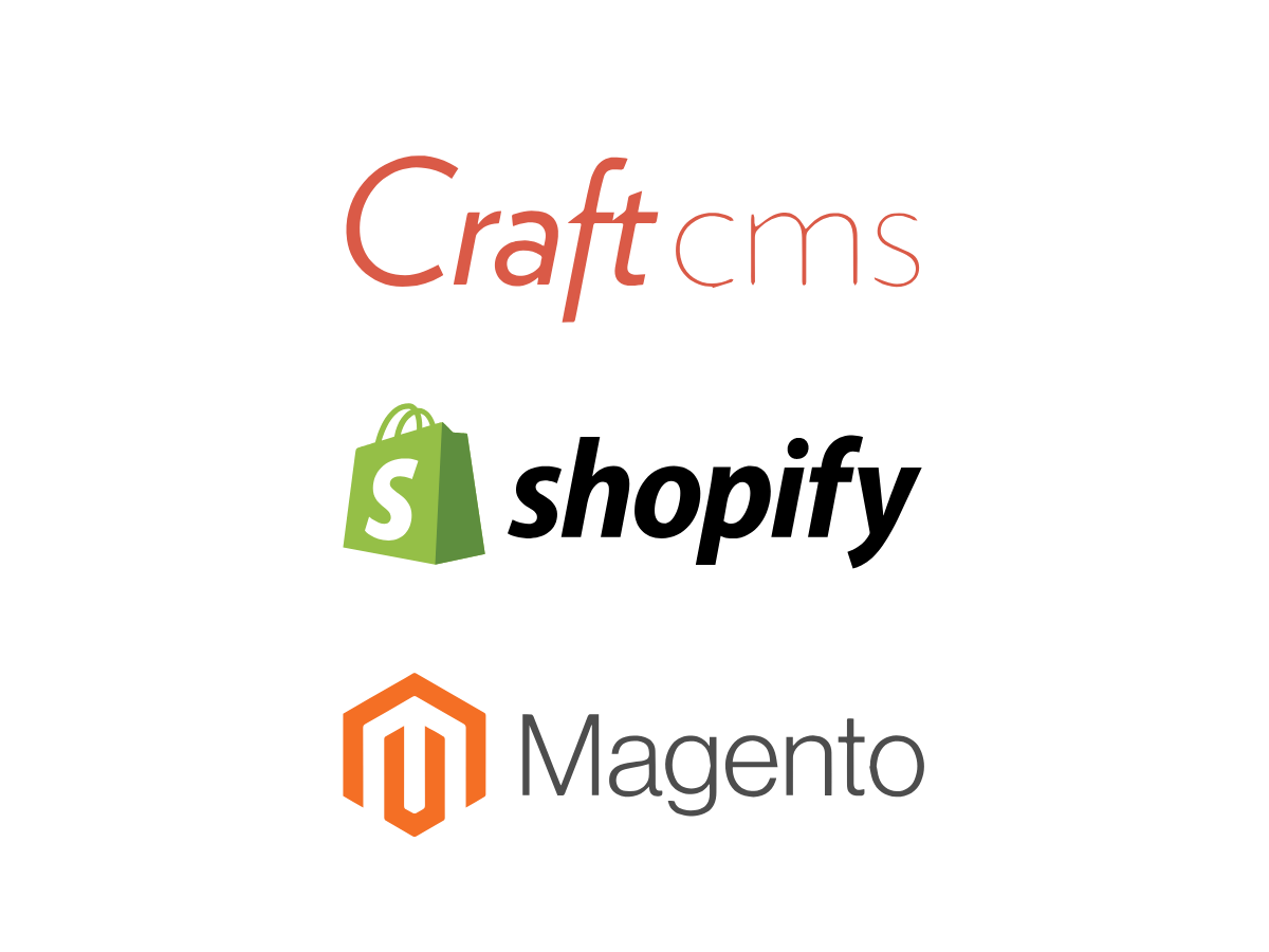 Web Design Services - Craft Commerce, Magento and Shopify e-commerce solutions