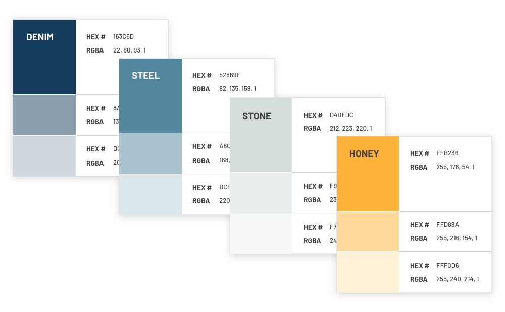 EC3 - Branding Color Palette