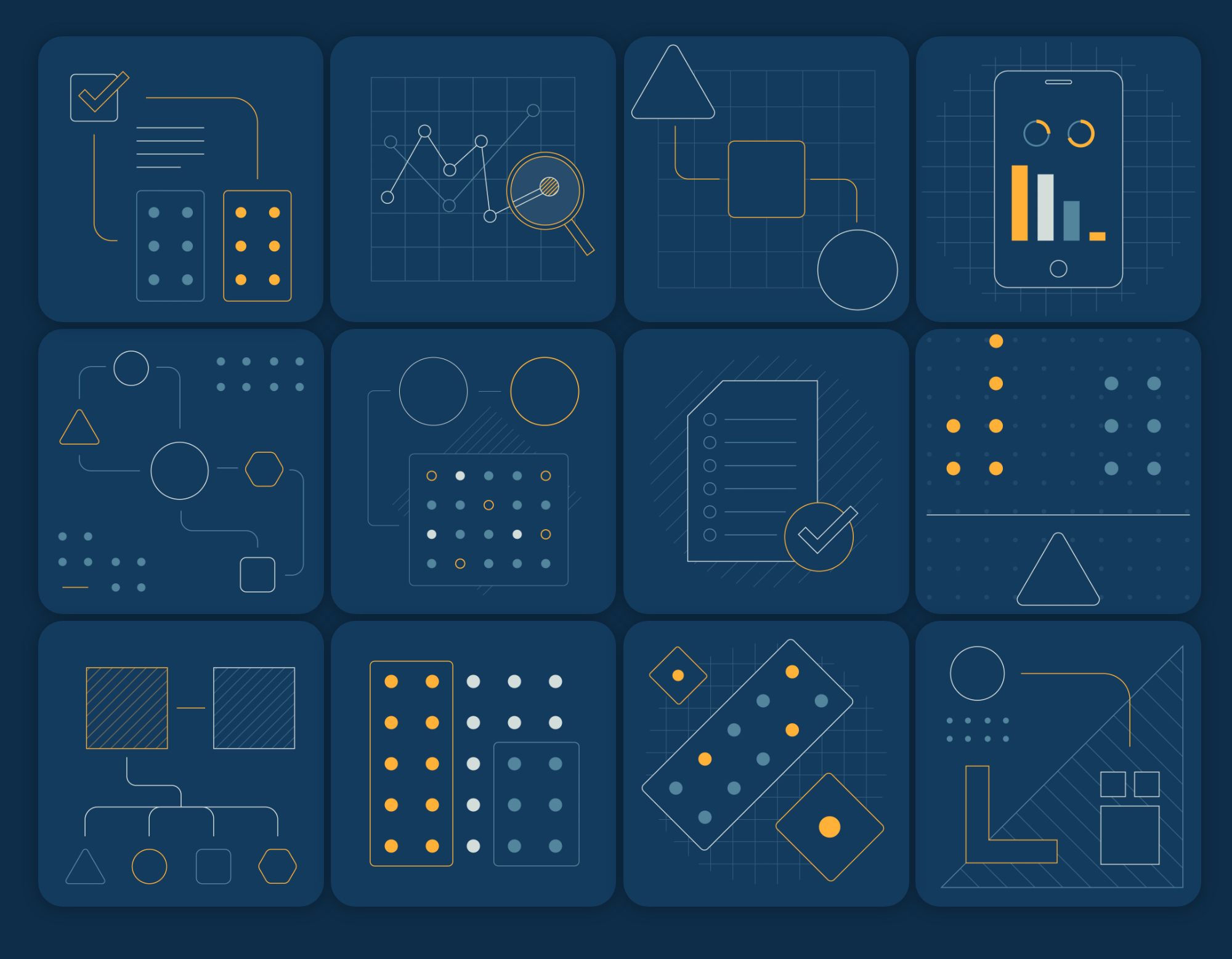 EC3 Abstract Illustrations created by Data Driven Design