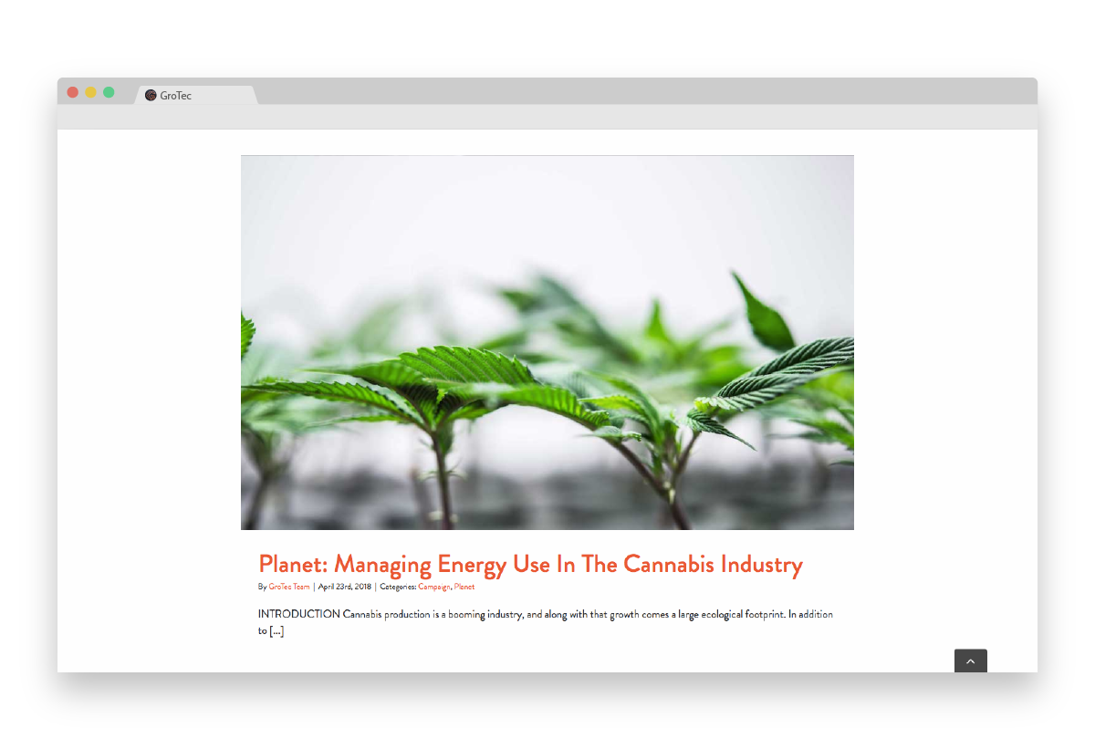 Gro Tec article browser Plant