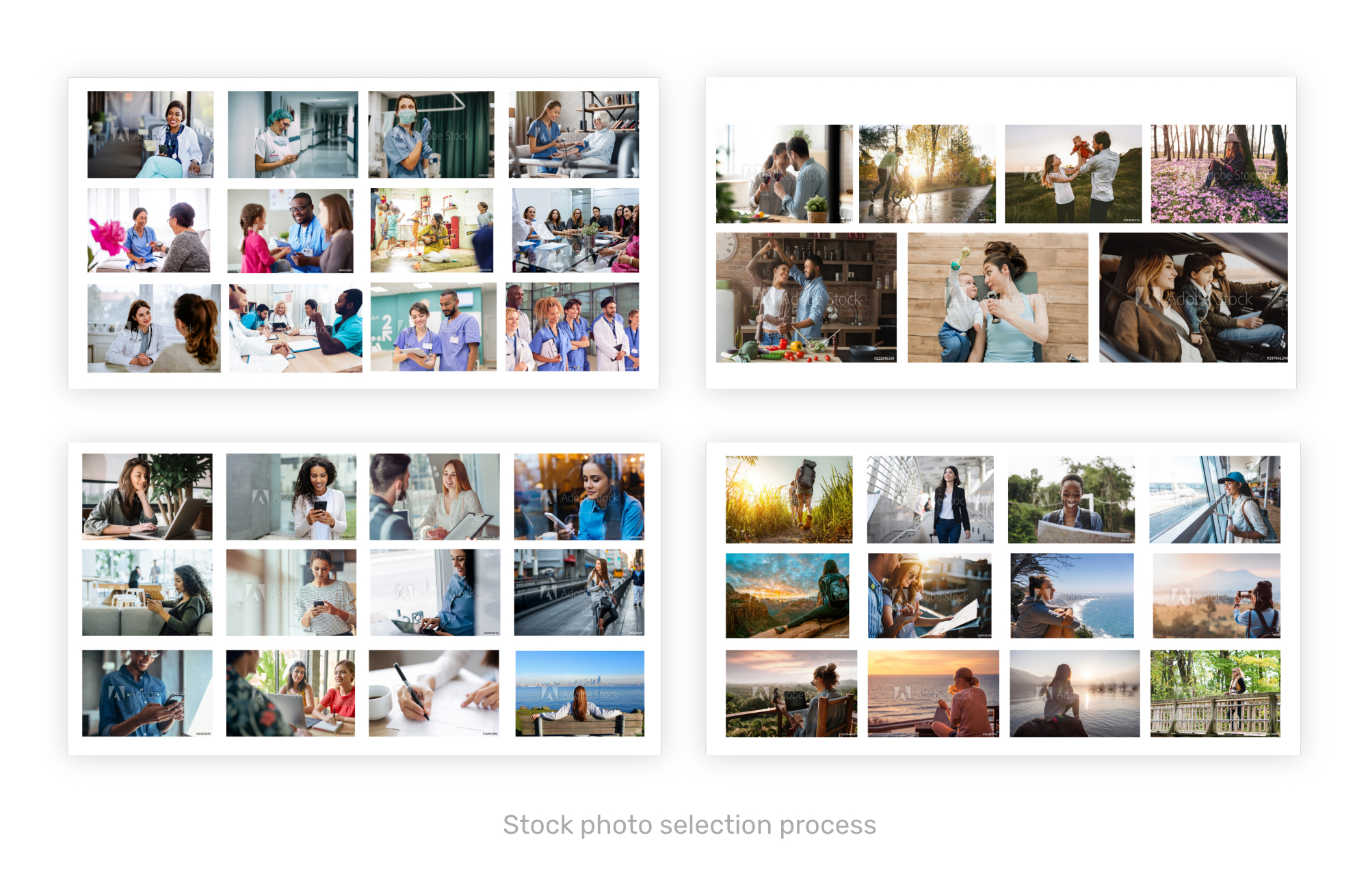 Integrated Health Solutions - imagery selection ideas