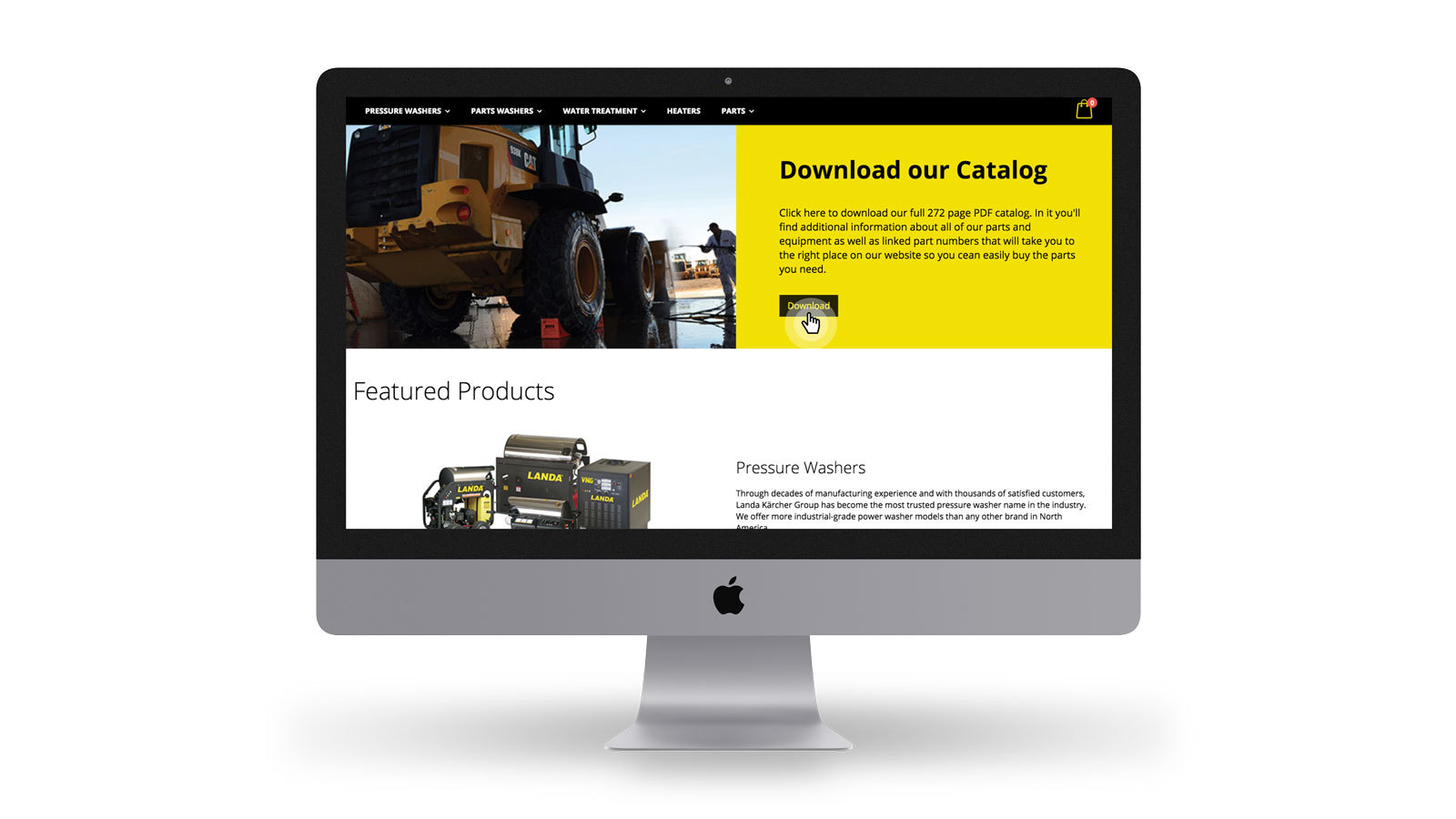 Landa Northwest e-commerce download product catalog