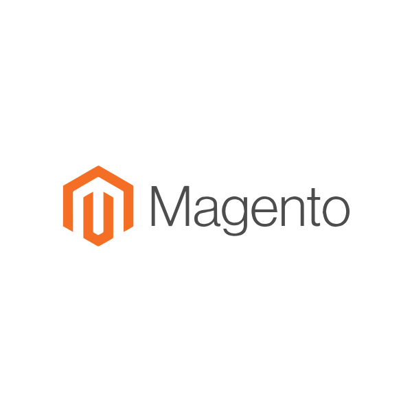 Magento e-commerce web development logo