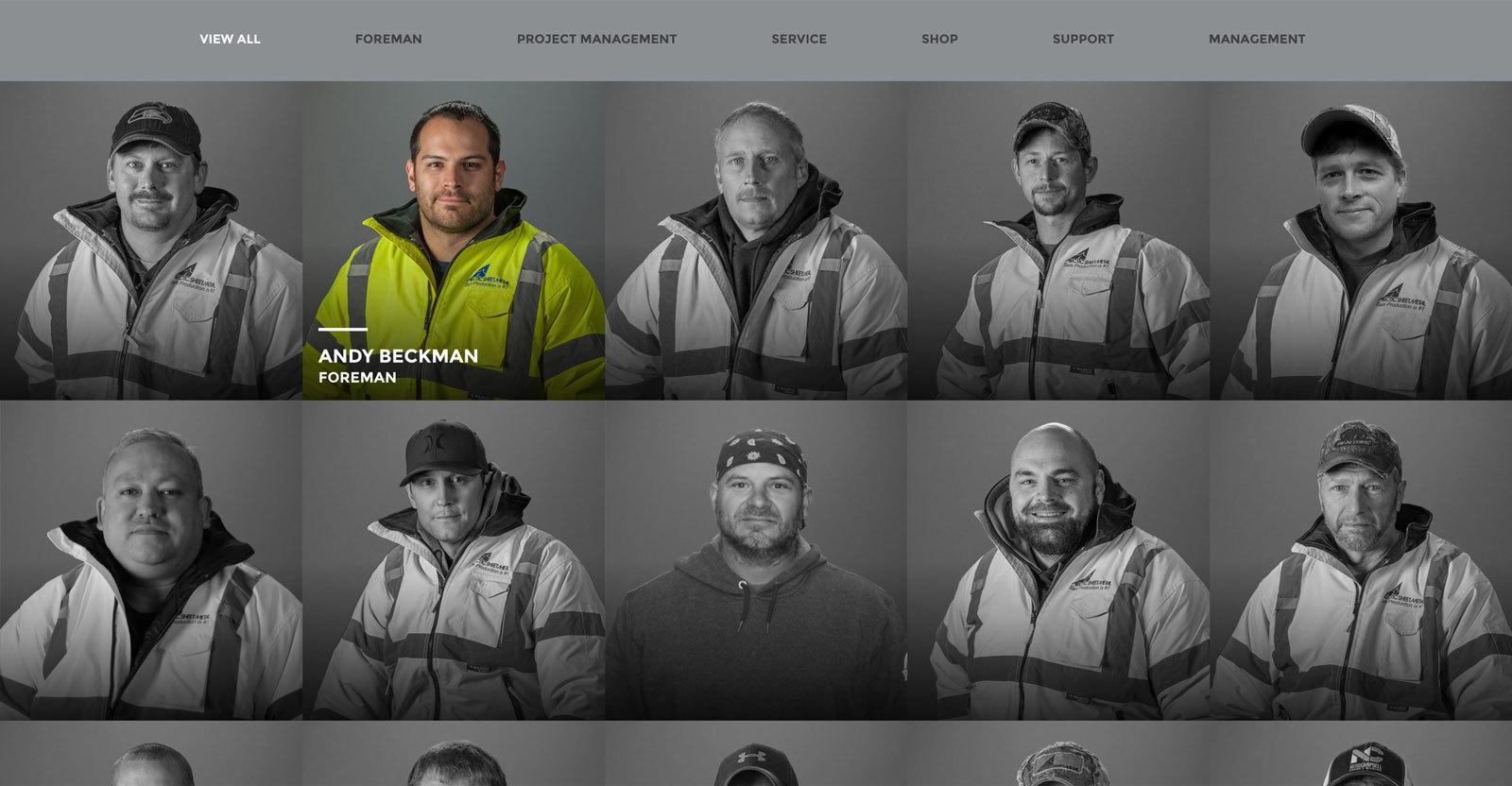 Arctic Sheet Metal - Team Member Focus Color