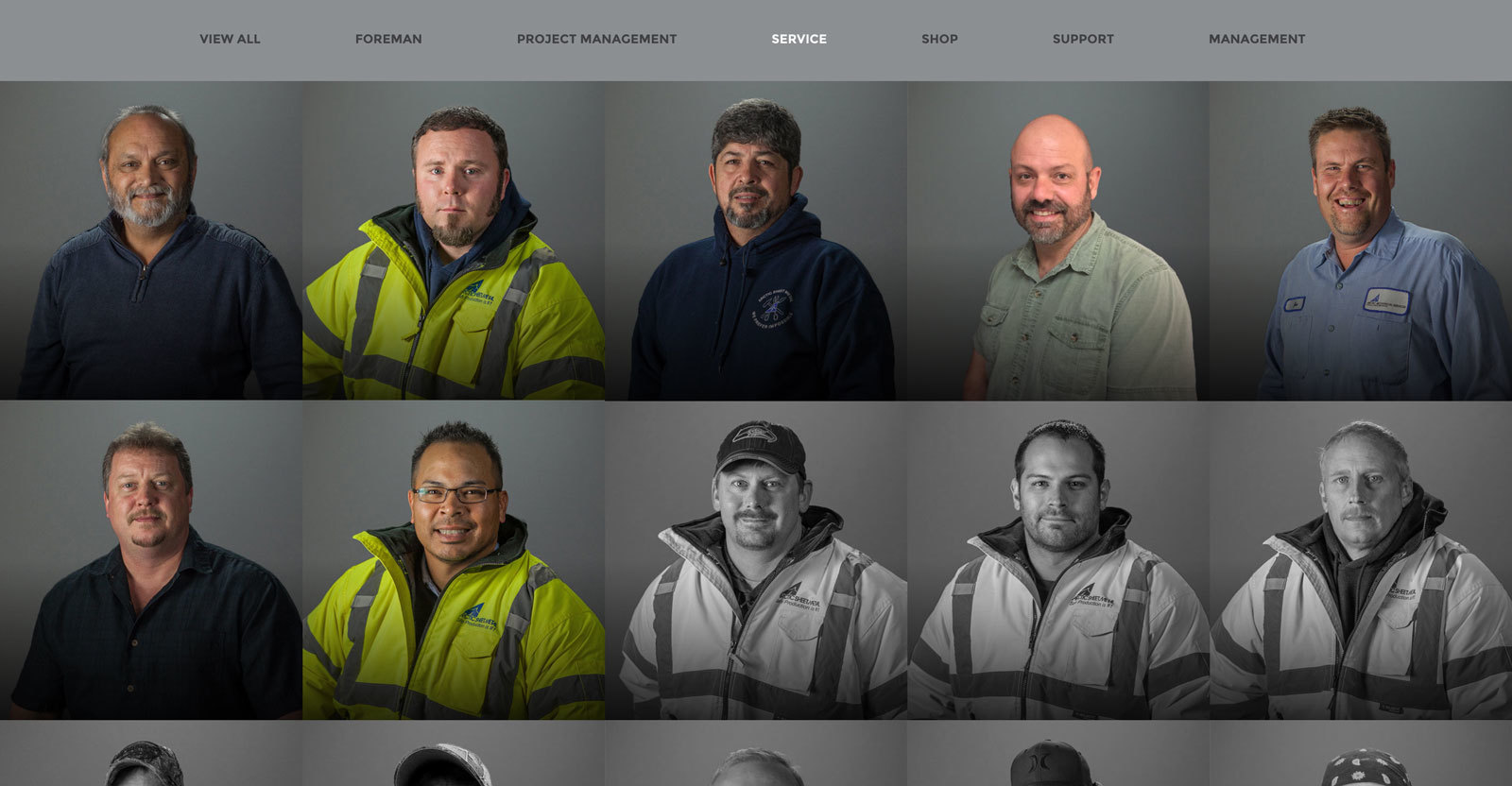 Arctic Sheet Metal - Team Members