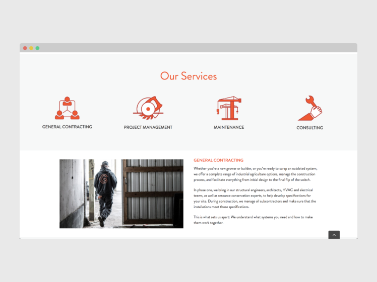 Grotec service offerings