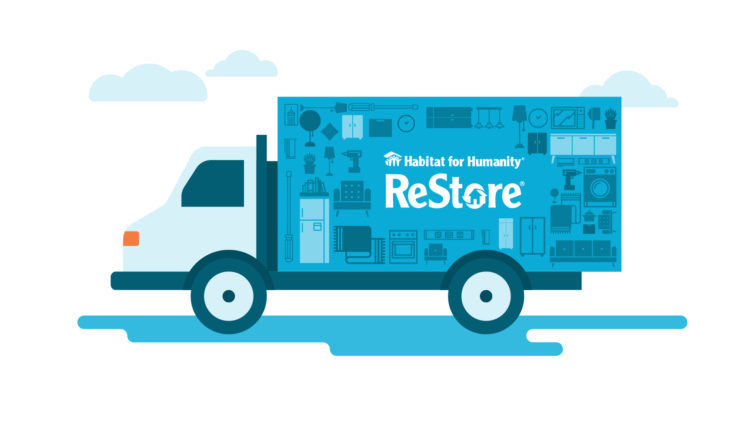 Habitat For Humanity - PDX ReStore Truck Image