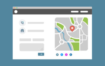 Essential Items For Contact Page - Map Graphic