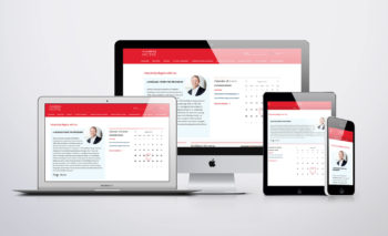 McKibbon Hospitality responsive design breakpoints - mobile, tablet, laptop and desktop