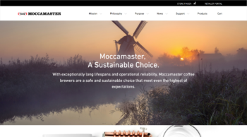 Moccamaster- A sustainable choice screen shot